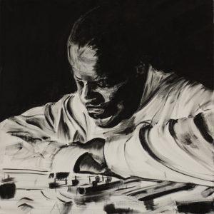 Garner 50 x 50 cm . Acryl/Canvas . CHF 800.-