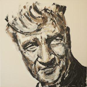 Lynch 100 x 100 cm . Acryl/Canvas . CHF 2200.-