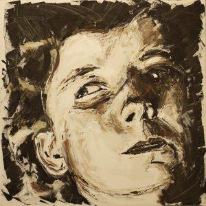 Maya 100 x 100 cm . Acryl/Canvas . sold
