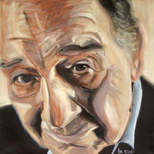 Paul 90 x 90 cm . Acryl/Canvas . CHF 1800.-
