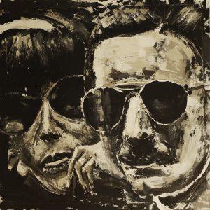 Mrs. & Mr. Siffert 80 x 80 cm . Acryl/Canvas . sold