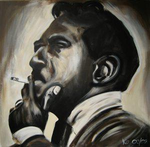 Jimmy 100 x 100 cm . Acryl/Canvas . CHF 1800.-